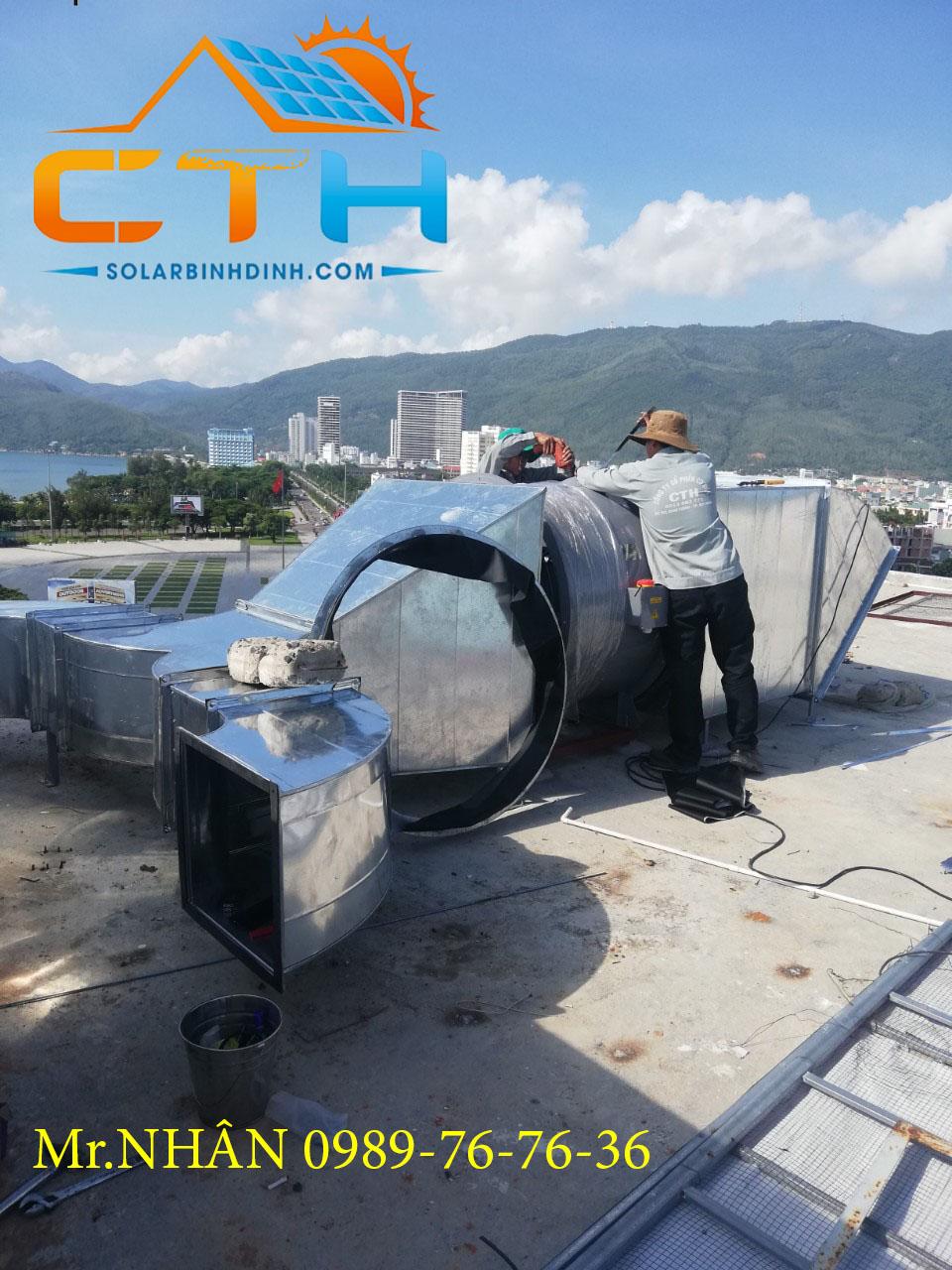 Thi công ống gió tại Tp Quy Nhơn – Bình Định