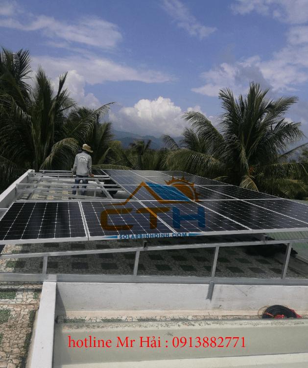 đấu nối hệ thống pin mặt trời
