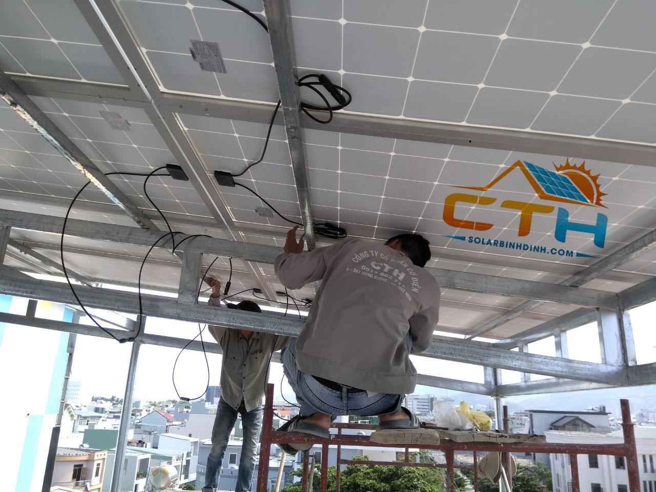 điện mặt trời quy nhơn