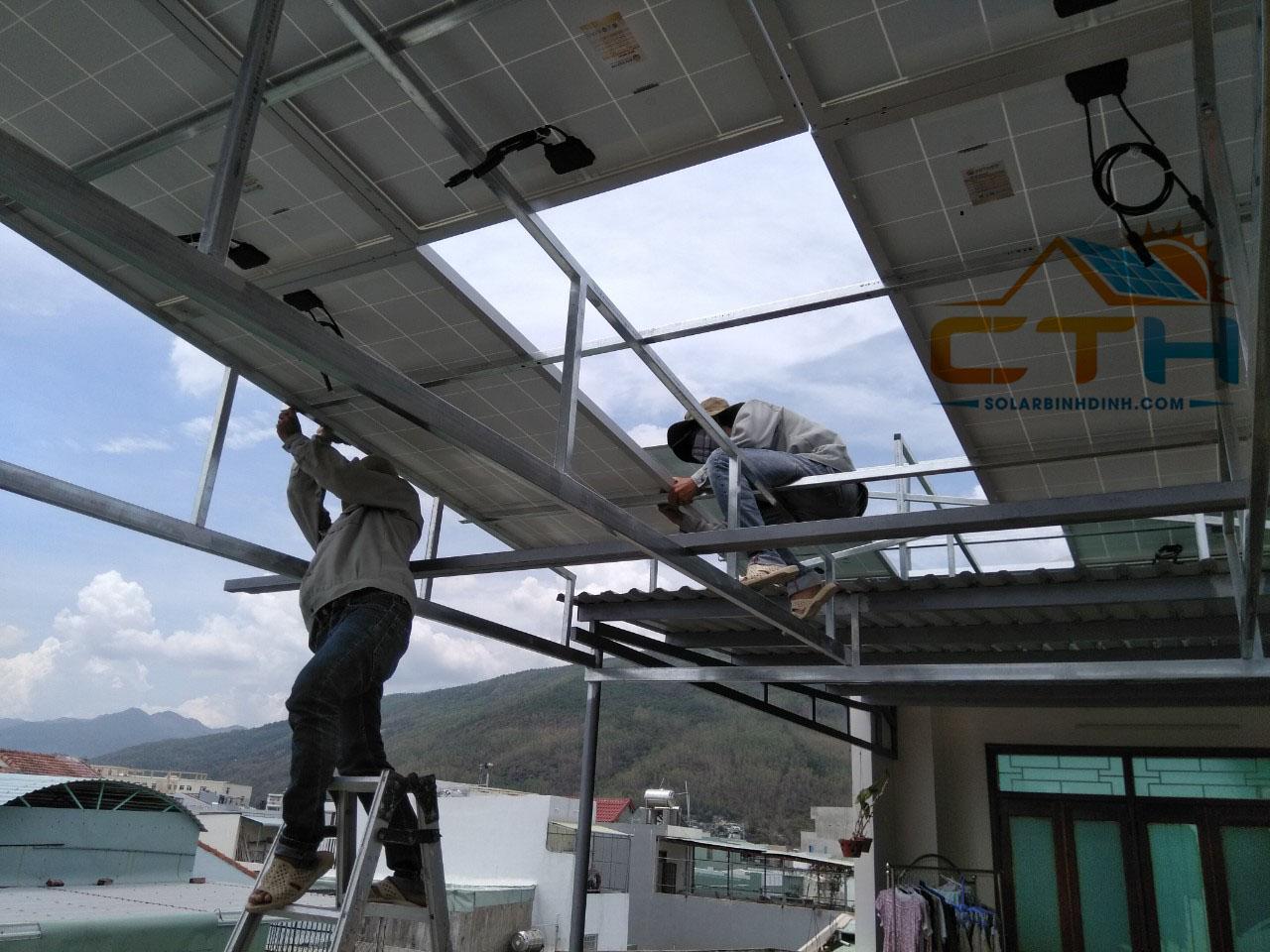 điện mặt trời hoà lưới quy nhơn