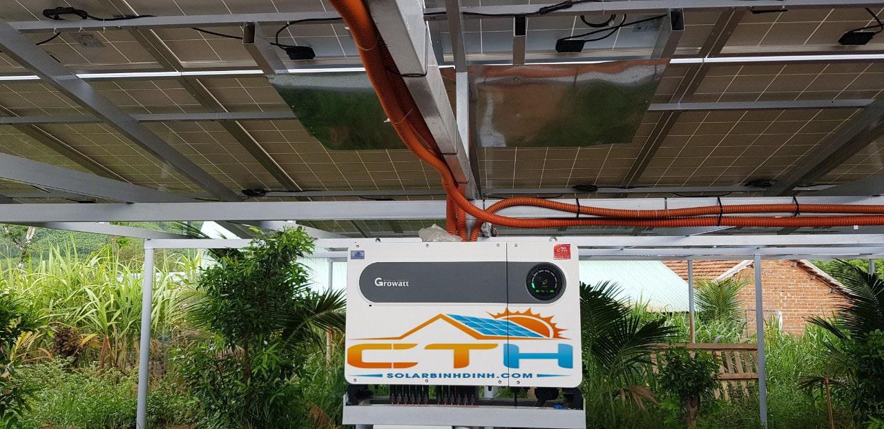 Điện mặt trời tại Hoài Nhơn – Bình Định