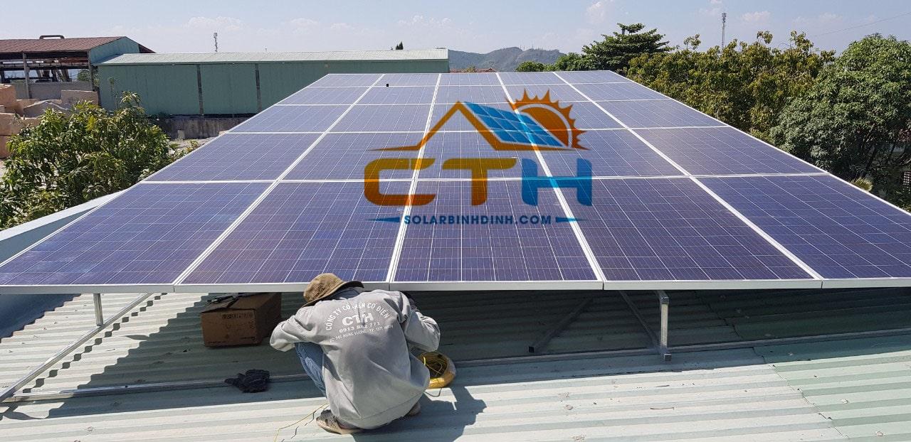 Thi công và lắp đặt Điện Mặt Trời tại Phú Tài – Quy Nhơn