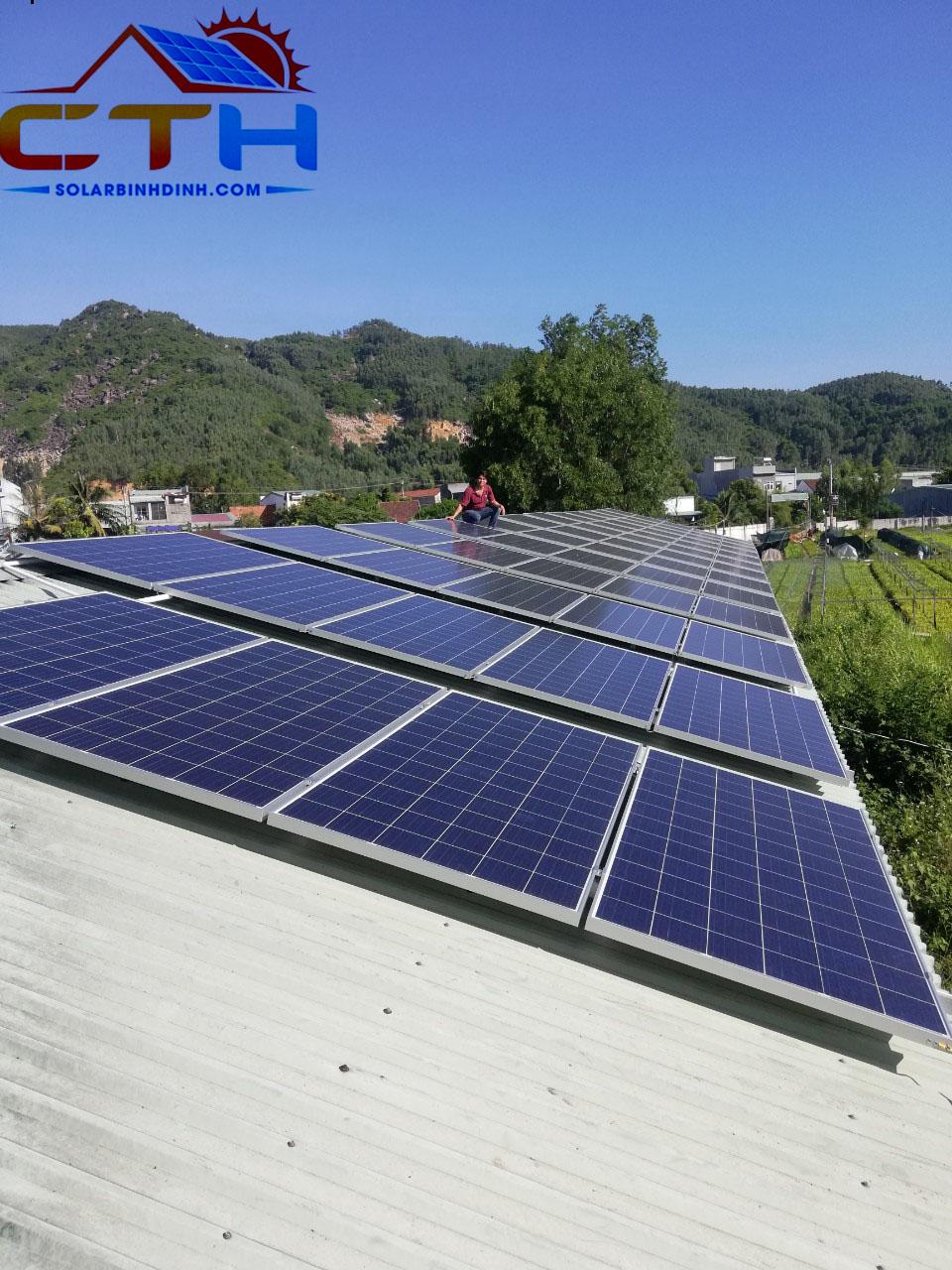 Điện mặt trời Phước An – Tuy Phước
