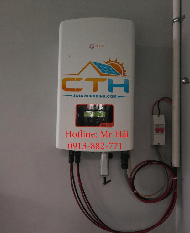 inverter solic điện mặt trời