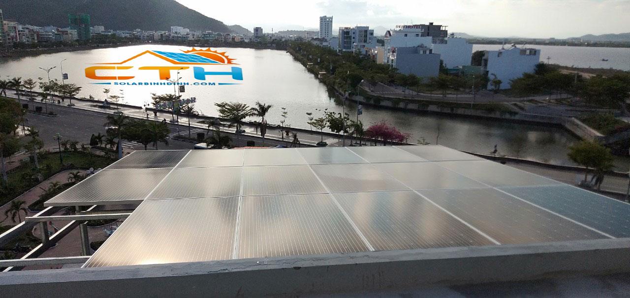 Hệ thống điện mặt trời hòa lưới công suất 6.29kWp tại TP.Quy Nhơn – Bình Định