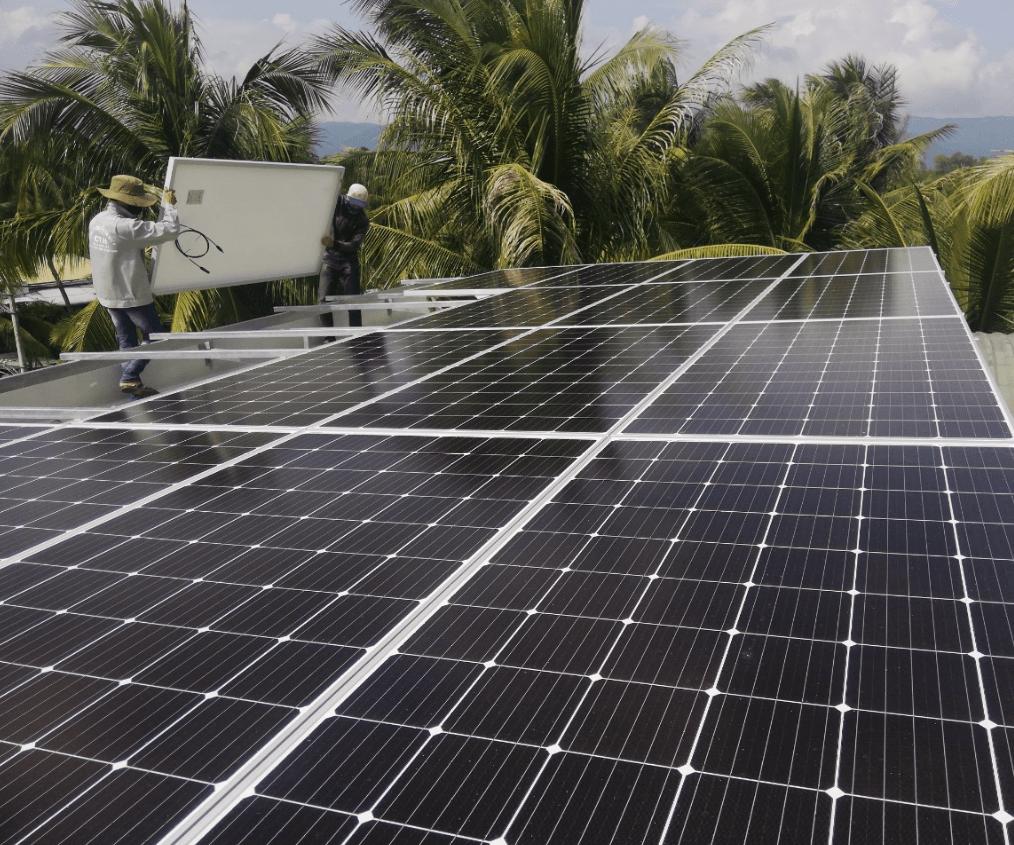 Điện mặt trời áp mái Hoài Nhơn